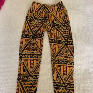 Excellent Condition Tween LulaRoe Leggings